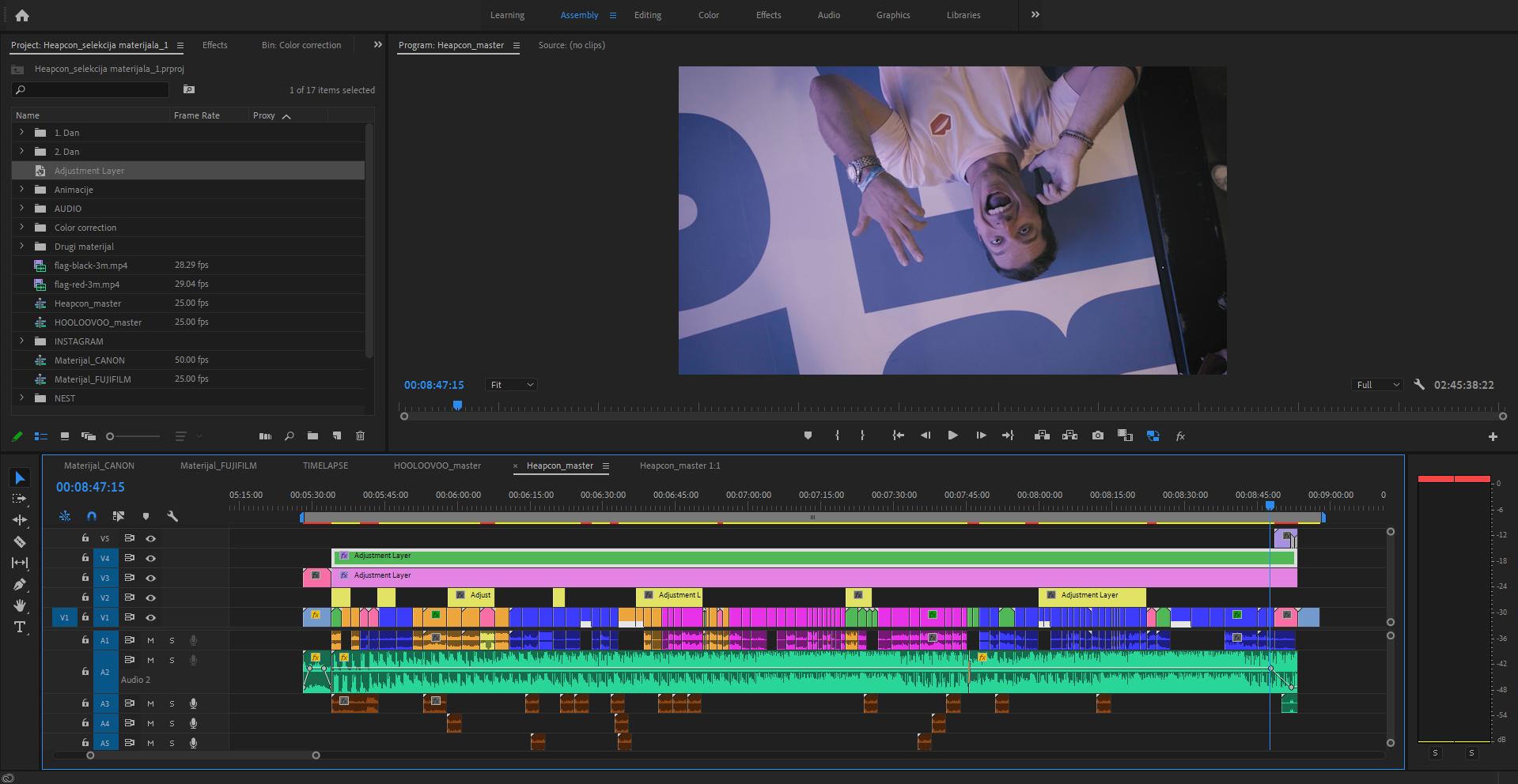 kako snimiti video premier pro industrija video sadrzaja