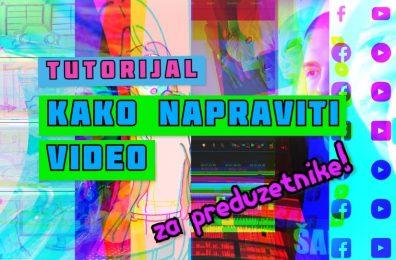 kako napraviti video dzinovski vodic industrija video sadrzaja