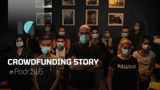 fundraising #podrži16 16 industraija video sadržaja